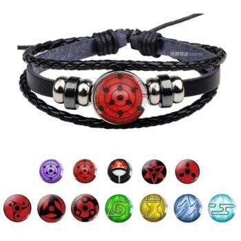 Naruto – Uchiha Sharingan Charm Bracelet (14 Styles) Bracelets