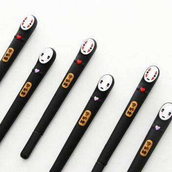 Spirited Away – 2pcs/set No Face Kaonashi Pen Pens & Books