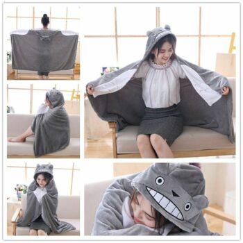 My Neighbor Totoro – Cute Plush Blanket Cosplay & Accessories