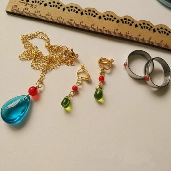 Howl's Moving Castle – Cosplay Earrings Necklace and Ring Cosplay & Accessories Pendants & Necklaces Rings & Earrings