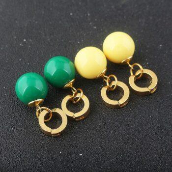Dragon Ball – Vegito Potara and Zamasu Earrings (3 Styles) Rings & Earrings