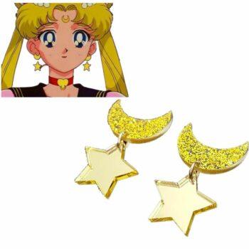 Sailor Moon – Usagi Tsukino Earrings Rings & Earrings