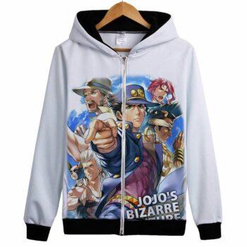 JoJo's Bizarre Adventure – Zip-Up Hoodie (21 Styles) Hoodies & Sweatshirts