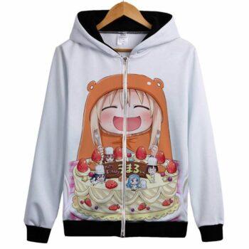 Himouto! Umaru-chan – Zip-Up Hoodie (22 Styles) Hoodies & Sweatshirts