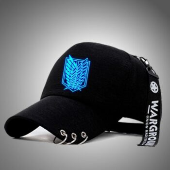 Attack on Titan, One Piece, Naruto, Death Note – Luxurious Caps (15+ Designs) Caps & Hats