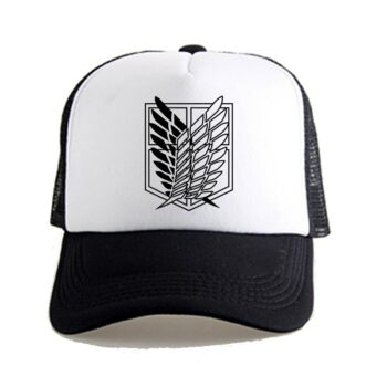 Attack on Titan – Survey Corps Caps for Boys and Girls (20+ Designs) Caps & Hats