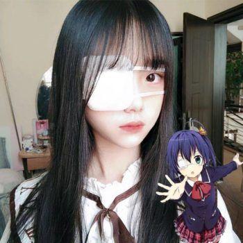 Tokyo Ghoul – Kaneki Ken White Eyepatch Face Masks