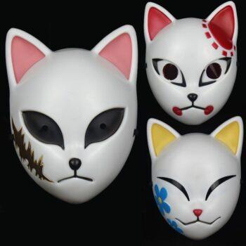 Demon Slayer – Tanjrio, Sabito and Makomo Face Masks (3 Styles) Face Masks