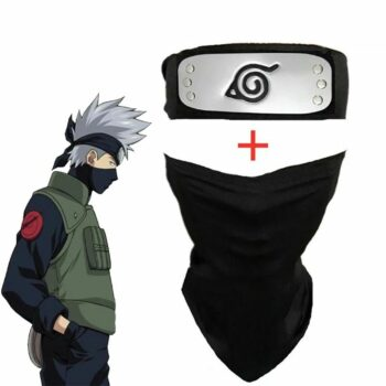 Naruto – Hatake Kakashi Face Mask with Headband Face Masks