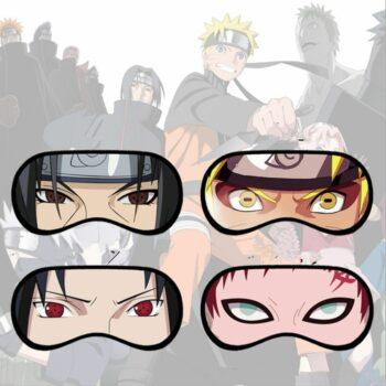 Naruto – Sleeping Masks (4 Styles) Face Masks