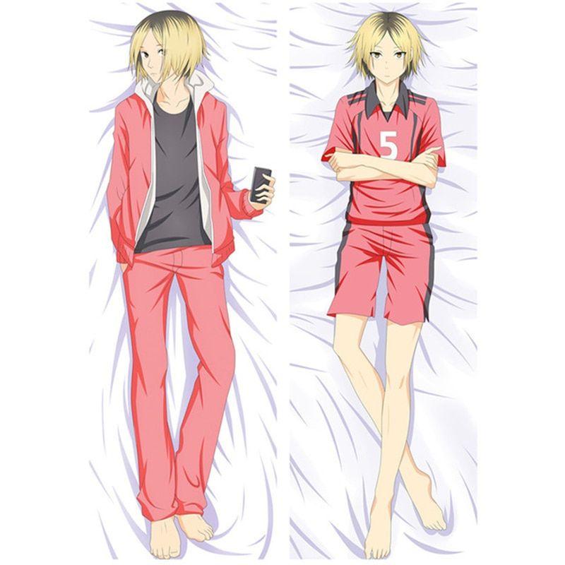 Haikyuu!! Hinata, Tobio, and other characters Dakimakura hugging body pillow covers (11 Designs) Bed & Pillow Covers