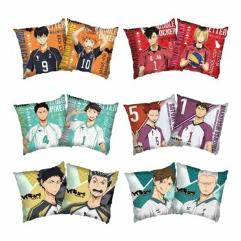 Haikyuu!! Hinata, Tobio, and other Characters Pillowcases and Covers (6 Designs) Bed & Pillow Covers