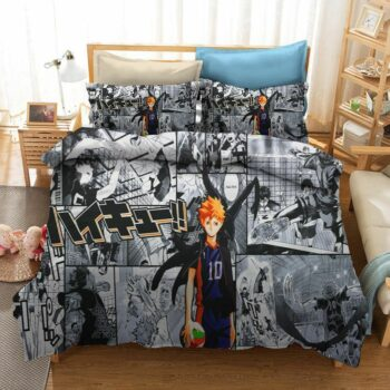 Haikyuu!! – Complete Bedding Set with Duvet and Pillowcases (7 Designs) Bed & Pillow Covers