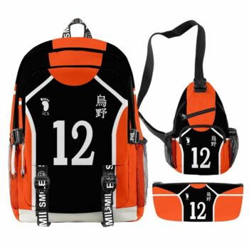 Haikyuu!! – Karasuno Themed Backpacks (6 Designs) Bags & Backpacks