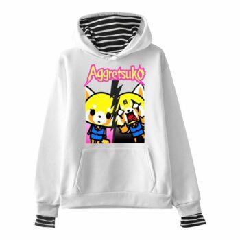 Aggretsuko – Men/Women long sleeves Hoodies (10 Designs) Hoodies & Sweatshirts