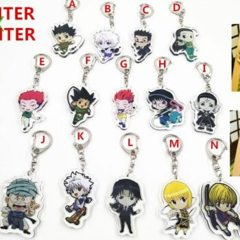Hunter X Hunter – All characters Acrylic keychains (15+ Designs) Keychains