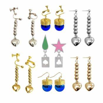 Hunter X Hunter – Hisoka and Kurapika earrings and accessories (10+ Designs) Rings & Earrings
