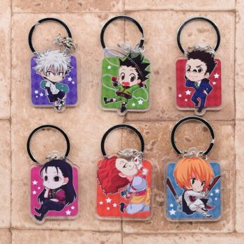 Hunter X Hunter – Cute characters keychains (7 Designs) Keychains