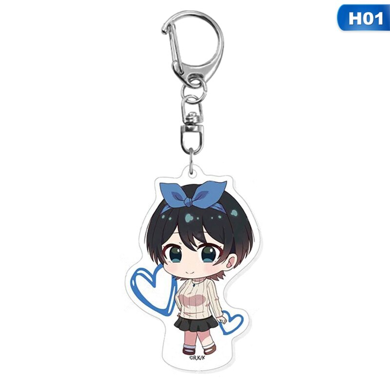 Rent a Girlfriend – Female Characters Keychains (5 Designs) Keychains