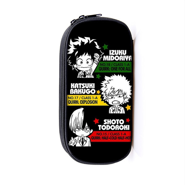 My Hero Academia – Different characters Pencil cases (30 Designs) Pencil Cases