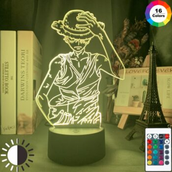 One Piece – Luffy RGB Lighting lamp (6 Designs) Lamps