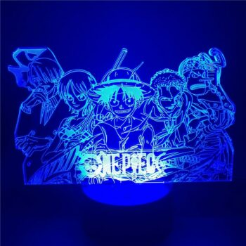One Piece – All-in-One Characters lighting lamps Lamps