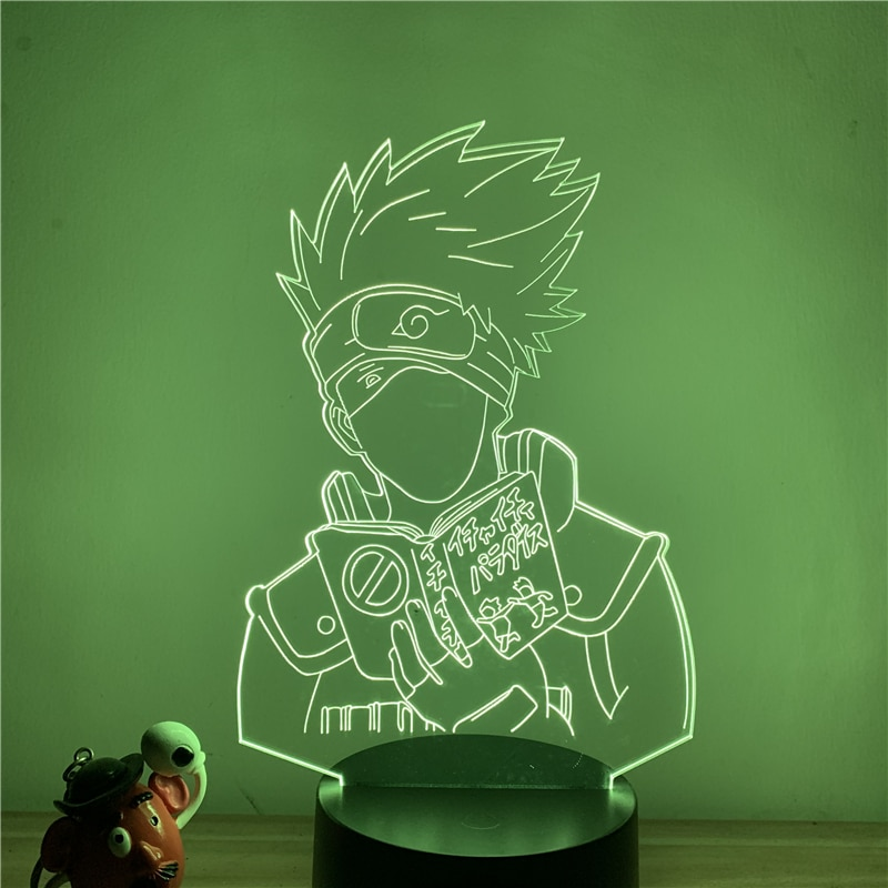 Naruto – Different characters lighting lamp (7 Designs) Lamps