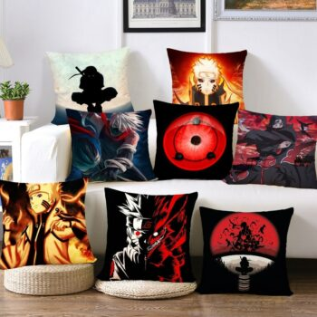 Naruto – Cool Characters Pillow Covers (10 Designs) Bed & Pillow Covers