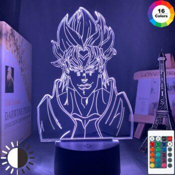 JoJo's Bizarre Adventure – Different characters lighting lamps (5 Designs) Lamps