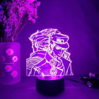 JoJo's Bizarre Adventure – Dio and Jotaro Lighting lamp Lamps