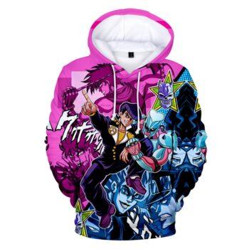 JoJo's Bizarre Adventure – All Characters awesome 3D Hoodies and Sweatshirts (10 Designs) Hoodies & Sweatshirts