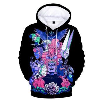 JoJo's Bizarre Adventure – Great Characters 3D Printed Hoodies (10 Designs) Hoodies & Sweatshirts