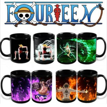 One Piece – Different Characters Color Changing Mugs (15+ Designs) Mugs