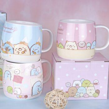 Sumikko Gurashi – All cute characters mugs (9 Designs) Mugs