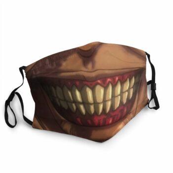 Attack On Titan – Titan faced Face Masks Face Masks