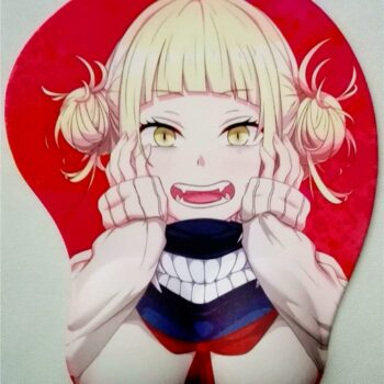 My Hero Academia – Toga Themed Cute Silicon Mousepad Keyboard & Mouse Pads