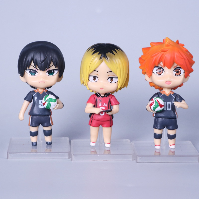 Haikyuu!! Different Characters Action Figures (Set of 6) Action & Toy Figures