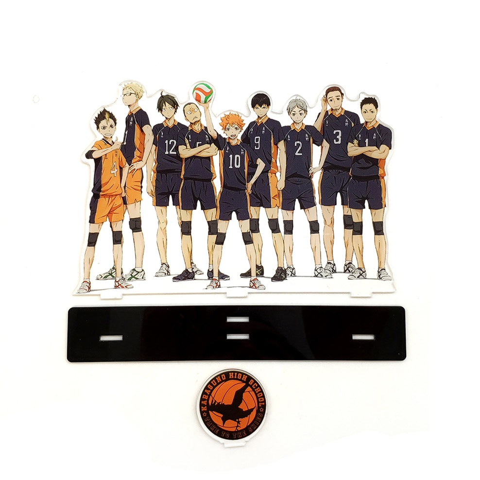 Haikyuu!! – All-in-One Characters Cool Acrylic Figure Action & Toy Figures