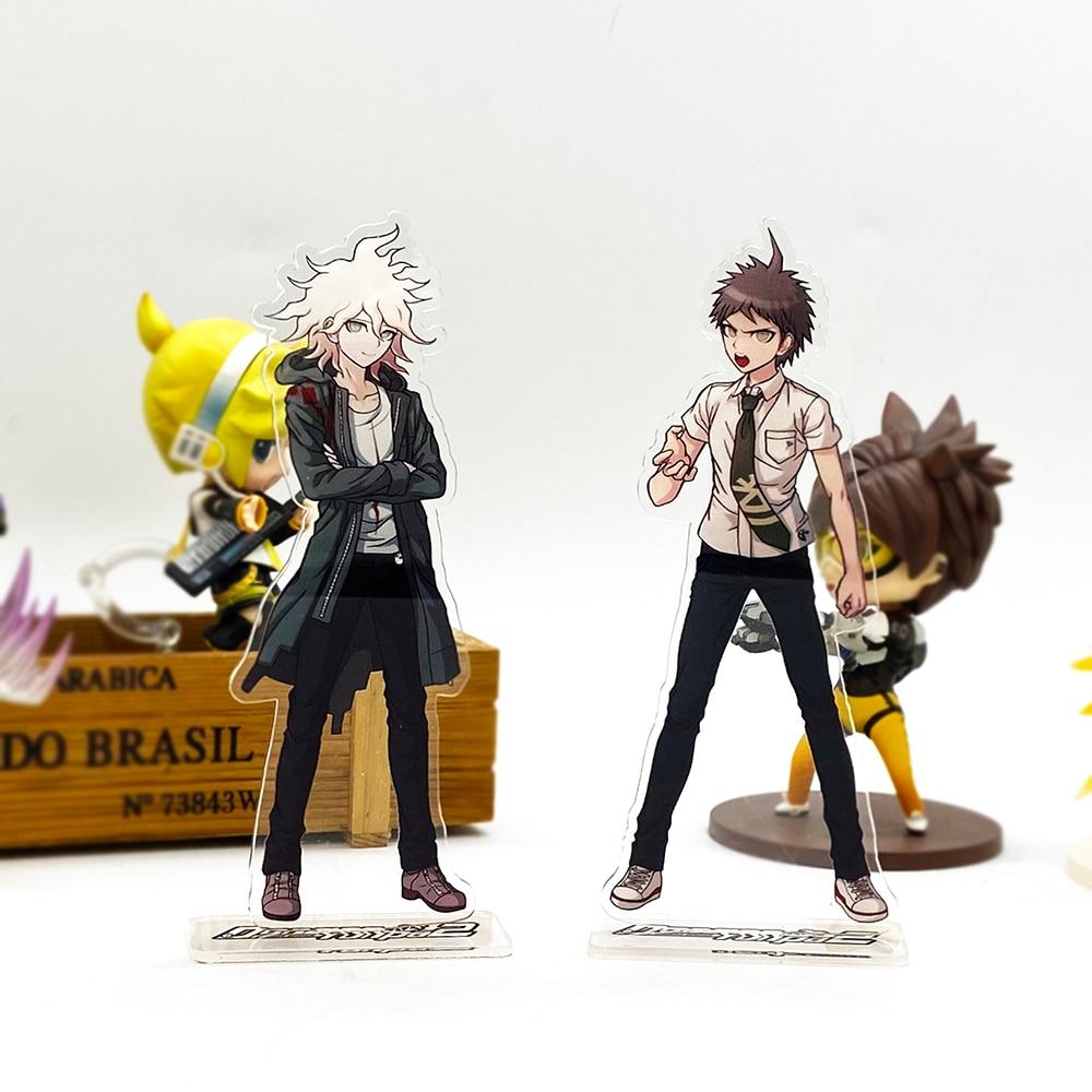 Danganronpa – Hajime Hinata and Nagito Komaeda Themed Acrylic Figure Stands Action & Toy Figures