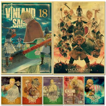 Vinland Saga – All-in-One Characters Amazing Posters (25 Designs) Posters