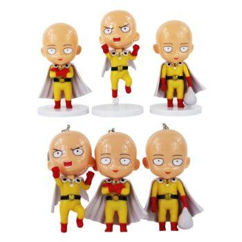 One Punch Man – Saitama Action Figures Set (2 Designs) Action & Toy Figures