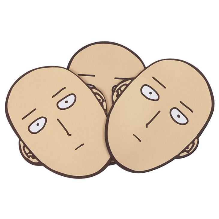 One Punch Man – Saitama Themed Rubber Mouse Pad Keyboard & Mouse Pads