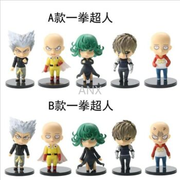 One Punch Man – Set of Different Characters Action Figures (2 Designs) Action & Toy Figures