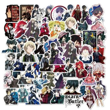Black Butler – All-in-One Pack of Characters Stickers (10/30/50 Pcs) Posters