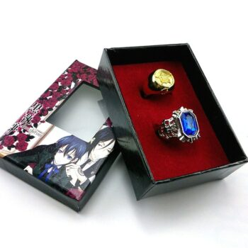 Black Butler – Different Characters themed rings, badges, pendants, and much more! (15 Accessories) Bracelets Pendants & Necklaces Rings & Earrings