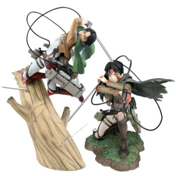 Attack on Titan – Levi themed Action Figure (4 Designs) Action & Toy Figures