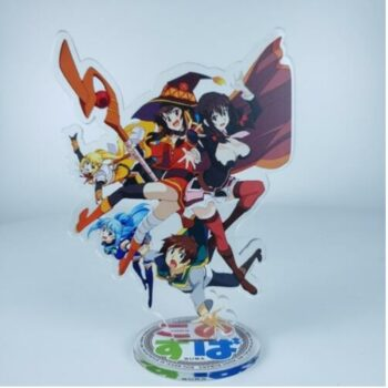 KonoSuba – All-in-One Characters Acrylic Figures Stands (8 Designs) Action & Toy Figures