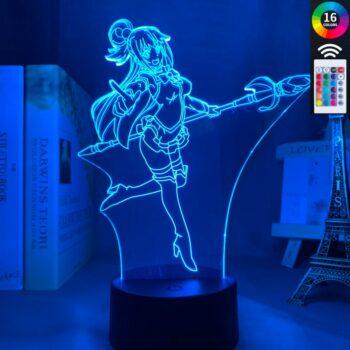 KonoSuba – Aqua Lighting Lamp (7/16 Colors) Lamps
