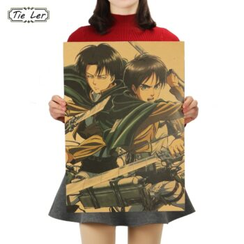 Attack on Titan – Eren and Levi Cool Poster Posters