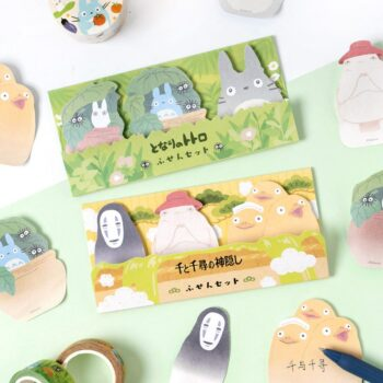 Kawaii No Face Man Totoro Sticky Notes Memo Pad Diary Stationary Flakes Scrapbook Decorative Cute Cartoon N Times Sticky Uncategorized